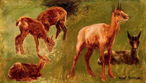 Animal Studies | Rosa Bonheur | Oil Painting