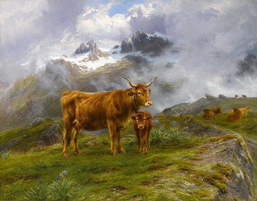 Highland Cattle | Rosa Bonheur | Oil Painting