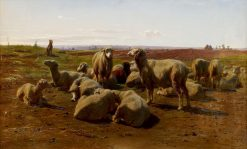 Watching over the Flock | Rosa Bonheur | Oil Painting