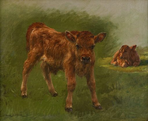 Calves | Rosa Bonheur | Oil Painting