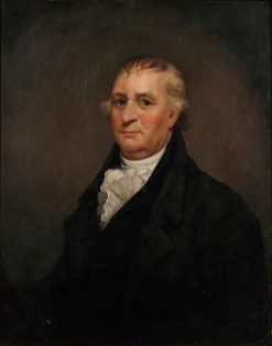 Portrait of Revolutionary War Officer Derick Lane of Troy