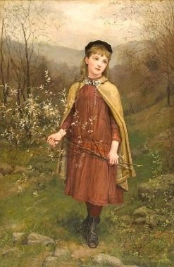Innocence   Jennie Brownscombe   Oil Painting