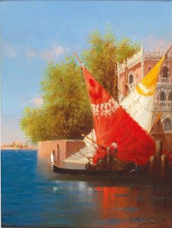 View of Venice | Charles Clément Calderon | Oil Painting