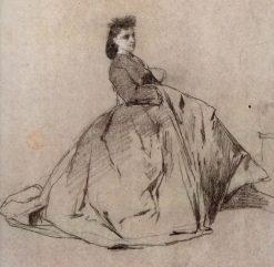 La Señora de Joaquín Agrassot. | Mariàno Fortuny y Marsal | Oil Painting