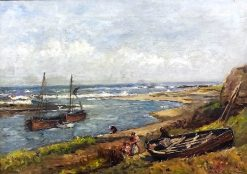 Aberdeen Coast | Robert Weir Allan | Oil Painting