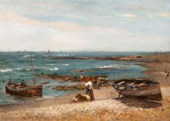 On the North Coast | Robert Weir Allan | Oil Painting
