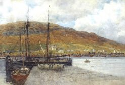 A Busy Harbor | Robert Weir Allan | Oil Painting