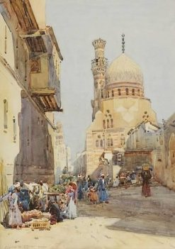 Cairo | Robert Weir Allan | Oil Painting