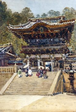 The Entrance to the Temple at Nikko