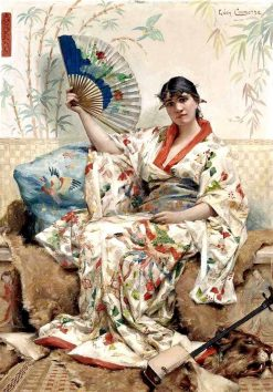 A Japanese Woman | Léon-François Comerre | Oil Painting
