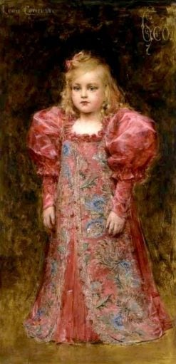 Girl in Costume | Léon-François Comerre | Oil Painting
