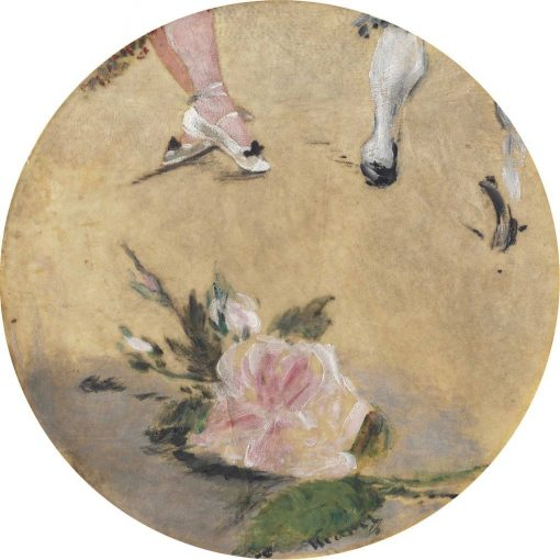 Dancing Shoes | douard Manet | Oil Painting