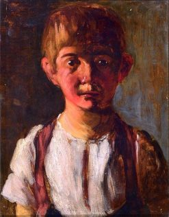 Portrait of a Young Boy | douard Manet | Oil Painting