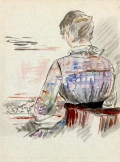 Woman at the Piano | douard Manet | Oil Painting