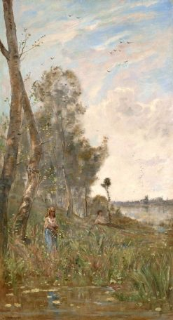 The Four Seasons | Hippolyte-Camille Delpy | Oil Painting