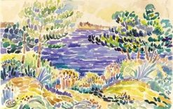 Pines by the Sea | Henri-Edmond Cross | Oil Painting
