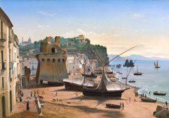 Marina at Vietri | Eugene Von Guerard | Oil Painting
