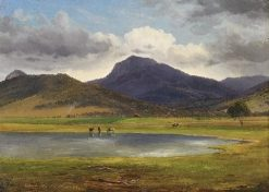 Mount Tambo from the Omeo Station | Eugene Von Guerard | Oil Painting