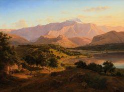 Italian Landscape | Eugene Von Guerard | Oil Painting