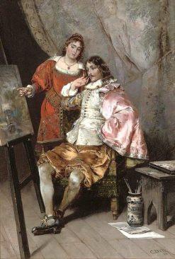 The Connoisseurs | Cesare Augusto Detti | Oil Painting