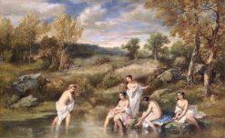 The Bathers | Narcisse Dìaz de la Peña | Oil Painting