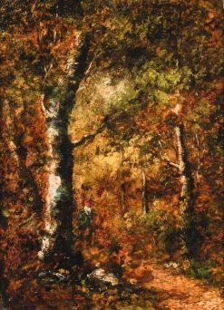A Woodland Scene | Narcisse Dìaz de la Peña | Oil Painting
