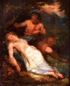 Venus and Mars | Narcisse Dìaz de la Peña | Oil Painting