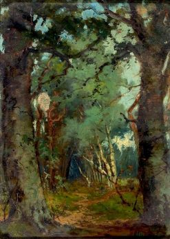 Path in the Woods   Narcisse Dìaz de la Peña   Oil Painting