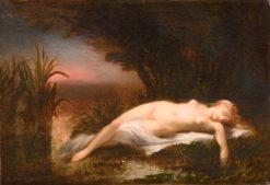 Ophelia   Narcisse Dìaz de la Peña   Oil Painting