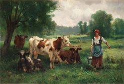 The Milkmaid | Julien Dupré | Oil Painting