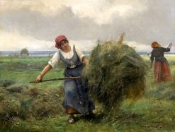 Haymaking | Julien Dupré | Oil Painting