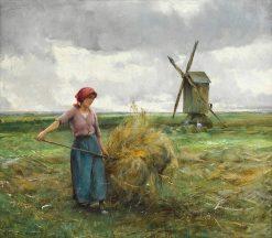 The Haymaker | Julien Dupré | Oil Painting