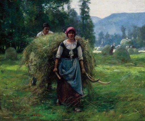 Haying | Julien Dupré | Oil Painting