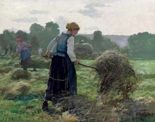 Haying Time | Julien Dupré | Oil Painting