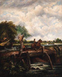 The Leaping Horse   Julien Dupré   Oil Painting