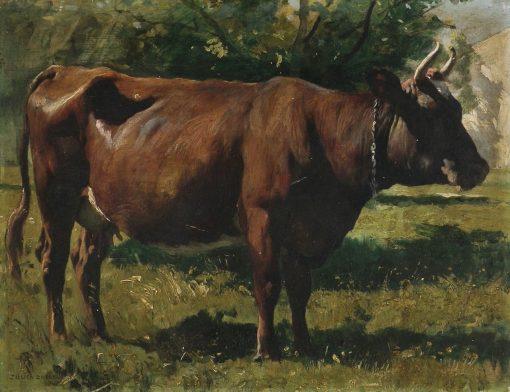 A Cow | Julien Dupré | Oil Painting