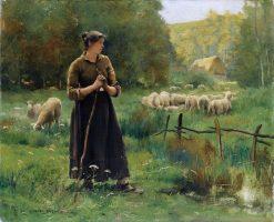 The Young Shepherdess | Julien Dupré | Oil Painting