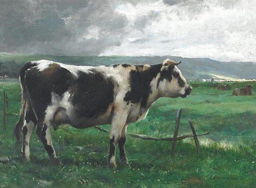 Cows at Pasture | Julien Dupré | Oil Painting