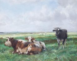 Cows | Julien Dupré | Oil Painting