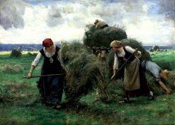 The Hay Harvest   Julien Dupré   Oil Painting
