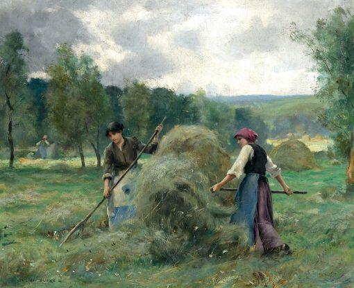Haymaking   Julien Dupré   Oil Painting