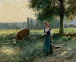 In the Fields | Julien Dupré | Oil Painting