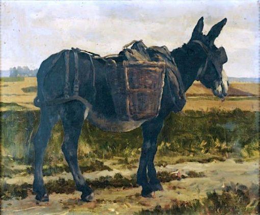 Donkey   Julien Dupré   Oil Painting