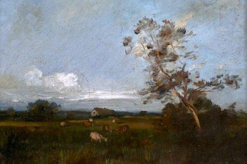 Cows on Pasture   Jules Dupré   Oil Painting