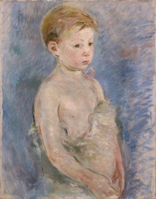 Little Saint John | Berthe Morisot | Oil Painting