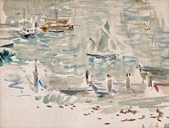 The Port of Gorey | Berthe Morisot | Oil Painting