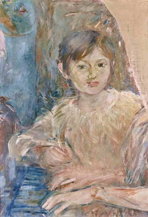 Julie Manet Listening to a Piano Study | Berthe Morisot | Oil Painting