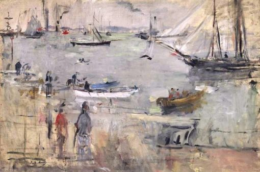 Seascape in England | Berthe Morisot | Oil Painting