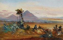 Teotihuacán | Johann Moritz Rugendas | Oil Painting