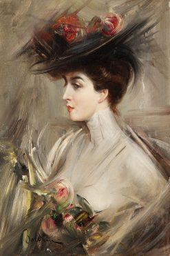 Lina Cavalieri | Giovanni Boldini | Oil Painting